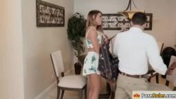 Adriana fucks her stepdads employee
