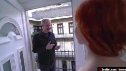 Russian redhead Gisha Forza date old guy