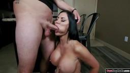 Stepson fucks his busty mature stepmom