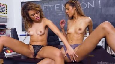 Kylie Lebeau and Destiny Cruz - Her First Milf