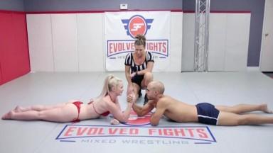 EvolvedFights Kay Carter - Arm Wrestling